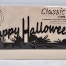Classic Motifs 12 Inch Happy Halloween Header Craft Holder
