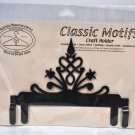 Classic Motifs 6 Inch Victorian Header Craft Holder