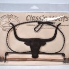 Classic Motifs 7.5 Inch Longhorn Craft Holder