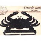 Classic Motifs Crab 8 Inch Charcoal Craft Holder
