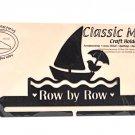 Classic Motifs Row by Row 10 Inch Charcoal Split Bottom Craft Holder