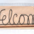 Classic Motifs 22 Inch Welcome Craft Holder