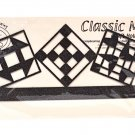 Classic Motifs Quilt Block 12 Inch Copper Header