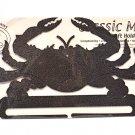 Classic Motifs Crab 8 Inch Copper Split Bottom Craft Holder