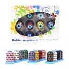 Robison Anton Top 12 Polyester Embroidery Thread Set
