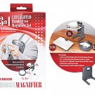 3-In-1 Led Lighted Hands-Free Magnifier Set
