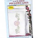 Lace Edge Pillowcases Daisy
