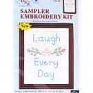Sampler Embroidery Kit Laugh