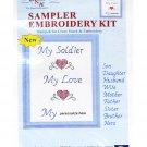 Sampler Embroidery Kit Soldier