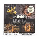 Moon Lights LED String Lights on Bendable Silver Plated Wire