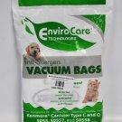 EnviroCare Anti-Allergen Vacuum Bags for Kenmore Type C & Q, KER-14550A