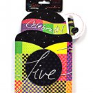 Pop Overs Live Love and Laugh Gift and Go Bottle Wrap