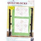 Jack Dempsey Fiesta Flowers Quilt Blocks