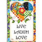 Live, Laugh and Love Magnet