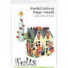 Handbeng Felts Embellishing Paper Mache Creative Fiber Art Pattern