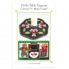 Janine Babich Designs Petite Table Toppers Collection #3 - Winter Holiday