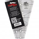 Creative Grids Non-Slip Starburst 30° Triangle Ruler