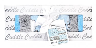 Shannon Fabrics Lullaby Cuddle Lucky Star Blue Kit