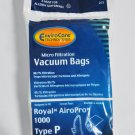 Royal AiroPro 1000 Vacuum Cleaner Type P Bags RY1000