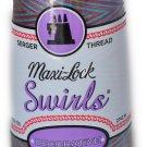 Maxi Lock Swirls Tie Dye Punch Serger Thread  53-M56