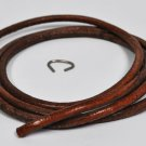 Singer 1/4 Inch Oak Leather Belting 100 B109F