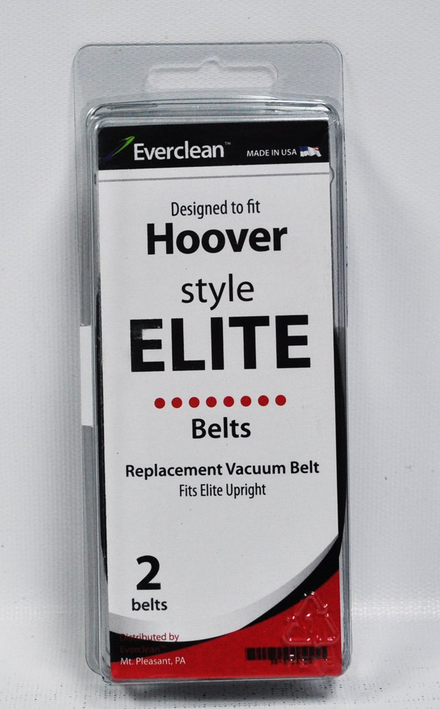 Generic Hoover Style Elite Upright Vacuum Replacement Belt 2 Pack