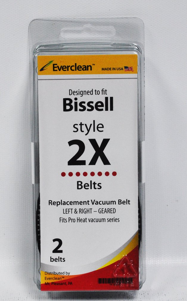 Generic Bissell Style 2X Belts 2 Pack