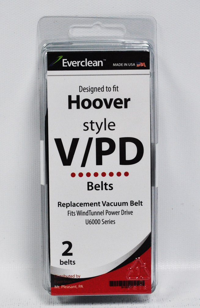 Generic Hoover V and Windtunnel Vacuum Belts 2 Pack