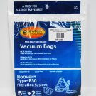 Hoover R30 Can Vac Bags, EnviroCare, 5 bags/2 Filters