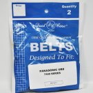 Dust Care Panasonic UB8 7300 Series Replacement Belts