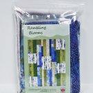 Rambling Blooms Batik and Catalina Ultra Violet Quilt Kit