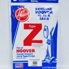 Hoover Type Z Paper Upright Vacuum Bags 3 Pack 4010075Z