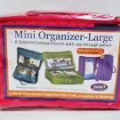 Yazzii Mini Craft Organizer Large Fuchsia