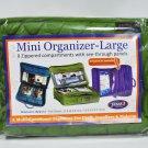 Yazzii Mini Craft Organizer Large Green