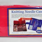 Yazzii Knitting Needle Case Small CA 190 Fuchsia
