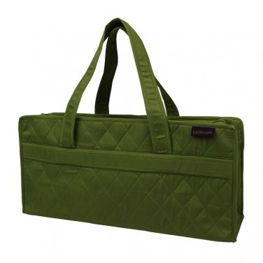 Yazzii Small Knitting Bag Green