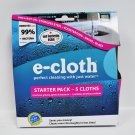 e-cloth Starter Pack Cleaning Kit 5 Colors
