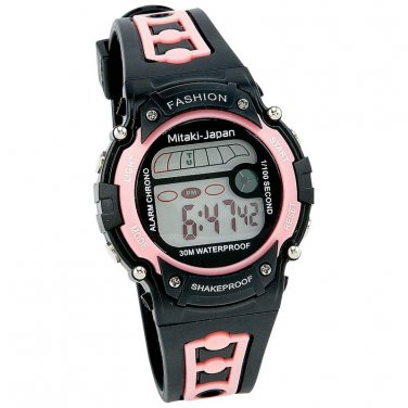 Mitaki-Japan Watch Womens Watches Sports Watch Black  - ELSPWAT4 - FREE SHIPPING!