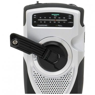 Crank Radio / Mitaki-Japan® AM/FM/Weather Band Emergency Crank Radio - ELCRANK - FREE SHIPPING!
