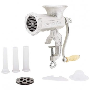 manual meat grinders / LaCuisine� #10 Hand-Operated Meat Grinder - KTMTGRD1 - FREE SHIPPING!
