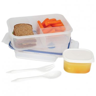 lunch containers / LaCuisine� 34oz Locking Divided Lunch Container - KTLKLNCH - FREE SHIPPING!