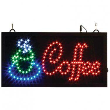 Mitaki-Japan� COFFEE Programmed LED Sign - ELMCOF - FREE SHIPPING!