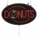 Mitaki-Japan™ DONUTS Programmed LED Sign - ELMDNT - FREE SHIPPING!