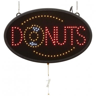 Mitaki-Japan� DONUTS Programmed LED Sign - ELMDNT - FREE SHIPPING!