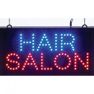 Mitaki-Japan� HAIR SALON Programmed LED Sign - ELMHS - FREE SHIPPING!