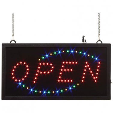 Mitaki-Japan� OPEN Programmed LED Sign - ELMOPEN1 - FREE SHIPPING!