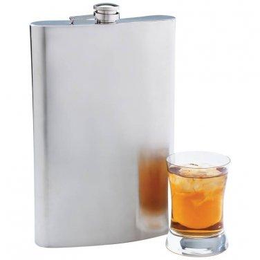 Maxam® 64oz Jumbo Stainless Steel Flask - KTFLASK64 - FREE SHIPPING!