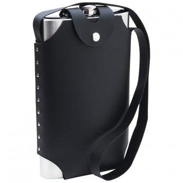 flasks / Maxam® 64oz Jumbo Stainless Steel Flask with Sheath - KTFLSH64 - FREE SHIPPING!