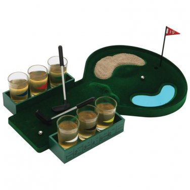 Maxam� 6-Shot Drinking Golf Game - SPDGOLF - FREE SHIPPING!