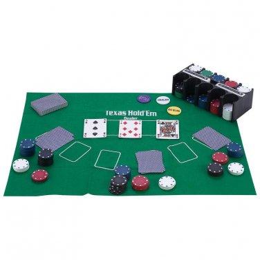 poker / Maxam� 208pc Casino-Style Texas Hold 'Em Poker Set - SPTXPOK - FREE SHIPPING!